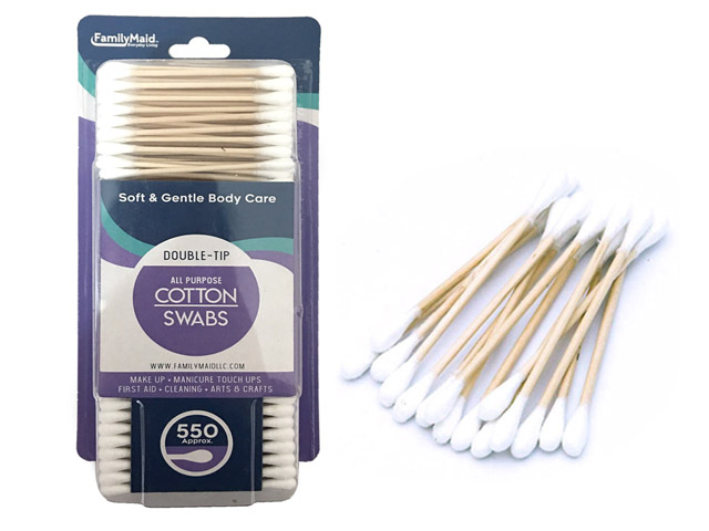 Cotton Swab, Pill Box,Toothbrush