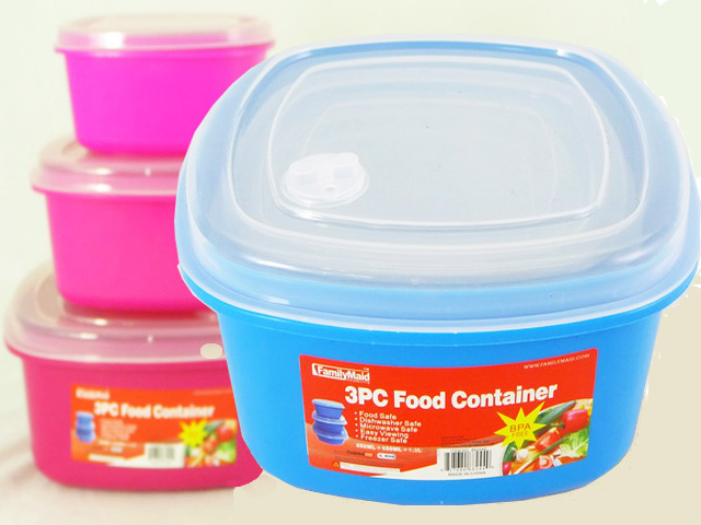 Food Container 3pc